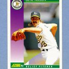 1992 Score Baseball #383 Gene Nelson - Oakland Athletics