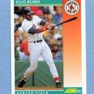 1992 Score Baseball #270 Ellis Burks - Boston Red Sox