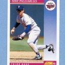 1992 Score Baseball #173 Mike Pagliarulo - Minnesota Twins