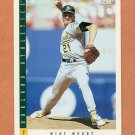 1993 Score Baseball #641 Mike Moore - Oakland Athletics