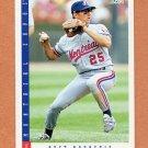 1993 Score Baseball #617 Bret Barberie - Montreal Expos
