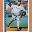 1993 Score Baseball #602 Tom Henke - Toronto Blue Jays