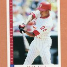 1993 Score Baseball #588 Juan Bell - Philadelphia Phillies