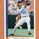 1993 Score Baseball #581 Mark Gubicza - Kansas City Royals