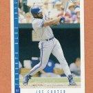 1993 Score Baseball #575 Joe Carter - Toronto Blue Jays