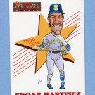 1993 Score Baseball #502 Edgar Martinez AS - Seattle Mariners