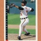 1993 Score Baseball #440 Alan Mills - Baltimore Orioles