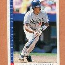 1993 Score Baseball #348 Carlos Hernandez - Los Angeles Dodgers