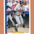 1993 Score Baseball #248 Mel Nieves - Atlanta Braves
