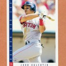 1993 Score Baseball #243 John Valentin - Boston Red Sox