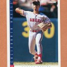 1993 Score Baseball #222 Damion Easley - California Angels