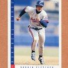 1993 Score Baseball #216 Darrin Fletcher - Montreal Expos