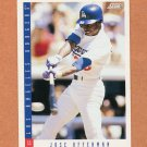 1993 Score Baseball #129 Jose Offerman - Los Angeles Dodgers