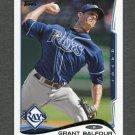 2014 Topps Mini Baseball #656 Grant Balfour - Tampa Bay Rays
