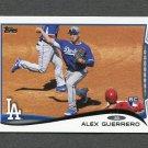 2014 Topps Mini Baseball #643 Alex Guerrero - Los Angeles Dodgers