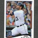 2014 Topps Mini Baseball #633 Alex Avila - Detroit Tigers
