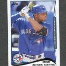 2014 Topps Mini Baseball #614 Moises Sierra - Toronto Blue Jays
