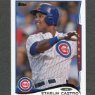 2014 Topps Mini Baseball #603 Starlin Castro - Chicago Cubs