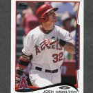 2014 Topps Mini Baseball #575 Josh Hamilton - Los Angeles Angels