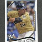 2014 Topps Mini Baseball #560 Aramis Ramirez - Milwaukee Brewers
