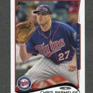 2014 Topps Mini Baseball #518 Chris Parmelee - Minnesota Twins