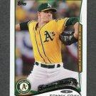 2014 Topps Mini Baseball #508 Sonny Gray - Oakland Athletics