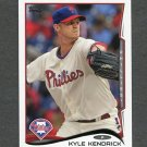 2014 Topps Mini Baseball #503 Kyle Kendrick - Philadelphia Phillies