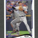 2014 Topps Mini Baseball #476 DJ LeMahieu - Colorado Rockies