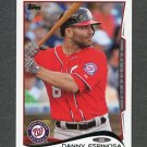 2014 Topps Mini Baseball #455 Danny Espinosa - Washington Nationals