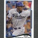 2014 Topps Mini Baseball #427 Cameron Maybin - San Diego Padres