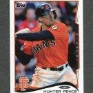 2014 Topps Mini Baseball #412 Hunter Pence - San Francisco Giants