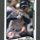 2014 Topps Mini Baseball #396 Brian Roberts - New York Yankees