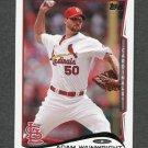 2014 Topps Mini Baseball #375 Adam Wainwright - St. Louis Cardinals