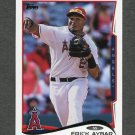 2014 Topps Mini Baseball #369 Erick Aybar - Los Angeles Angels