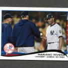 2014 Topps Mini Baseball #321 Mariano Rivera HL - New York Yankees