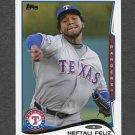 2014 Topps Mini Baseball #310 Neftali Feliz - Texas Rangers