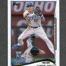 2014 Topps Mini Baseball #298 Chris Getz - Kansas City Royals