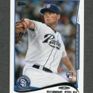 2014 Topps Mini Baseball #281 Robbie Erlin RC - San Diego Padres