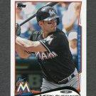2014 Topps Mini Baseball #271 Justin Ruggiano - Miami Marlins