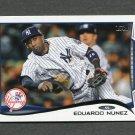 2014 Topps Mini Baseball #246 Eduardo Nunez - New York Yankees