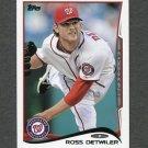 2014 Topps Mini Baseball #245 Ross Detwiler - Washington Nationals
