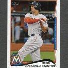2014 Topps Mini Baseball #217 Giancarlo Stanton - Miami Marlins