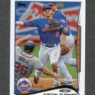 2014 Topps Mini Baseball #187 Justin Turner - New York Mets