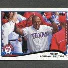 2014 Topps Mini Baseball #161 Adrian Beltre - Texas Rangers