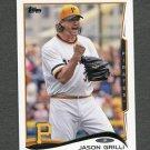 2014 Topps Mini Baseball #159 Jason Grilli - Pittsburgh Pirates