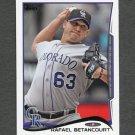 2014 Topps Mini Baseball #139 Rafael Betancourt - Colorado Rockies