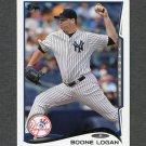 2014 Topps Mini Baseball #137 Boone Logan - New York Yankees