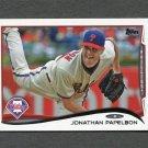 2014 Topps Mini Baseball #122 Jonathan Papelbon - Philadelphia Phillies