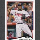 2014 Topps Mini Baseball #101 Chris Nelson - Los Angeles Angels