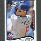 2014 Topps Mini Baseball #093 Ryan Sweeney - Chicago Cubs